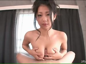 Titjob from a pretty girl in POV