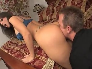 Big boobs business girl laid in bedroom