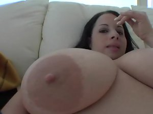 Fatty blowjob and sexy facial