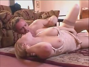 Undressing and fucking a cute Euro girl