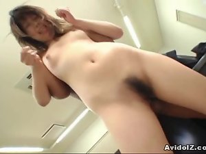 Cute chick Yumi Takeda fucked in the ass!