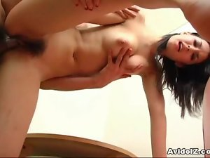 Hottest babe Maria Ozawa riding cock like a machine!