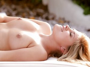 Nubile Films - lesbian hotties play outside