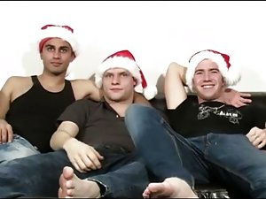 christmas threesome
