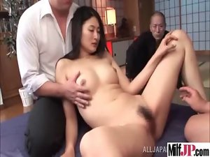 Sexual Buxom Seductive japanese Mommy Get Banged Dirty clip-23