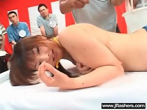 In Public Jap Flash Body And Get Brutal Nailed clip-14