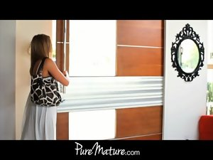 PureMature attractive mom surprise sex!
