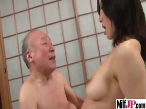 Asian Sensual japanese Big titted Vixen Mommy Get Wild Nailed movie-09