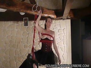 french fisting bondage hogtied bdsm
