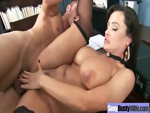 Nympho Alluring Mamma With Big Melons Get Brutal Fucked clip-20