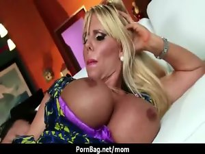Pretty and enormous tits Stepmom banged rough 17