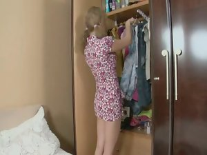 Petite pigtailed Sensual russian Legal teen gets banged in the Dirty ass