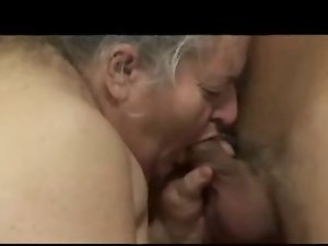 Short Thick Hirsute Granny Lili Loves Younger Dick