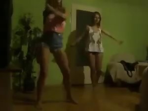 Bulgarian slutty chicks dancing