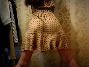 dress naughty bum shake