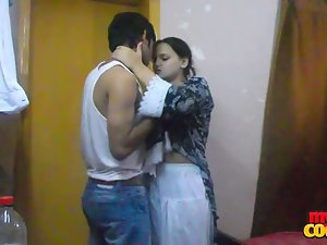 randy indian attractive and spicy sonia bhabhi licking her man huge shaft