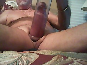 Pumping MY Pecker And Balls After A Rough Days Work