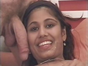 Randy indian - 18 years old NRI Young lady banged by hung white lad
