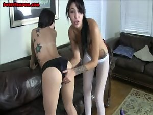 alexa and esmi chastity check in gone bad PREVIEW