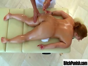 Filthy Masseur Seduce Lewd Big titted Client To Have Wild Sex clip-25