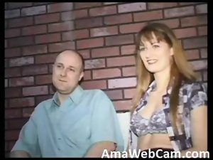 French amateur couple giving their best on cam