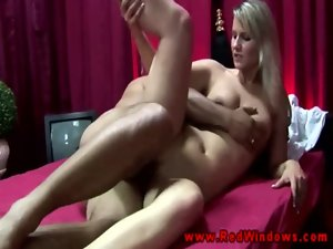 Tempting blonde Amsterdam perfect hussy thumped