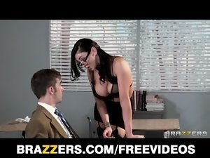 Alluring college prof Audrey Bitoni steals her student from his Girlfriend