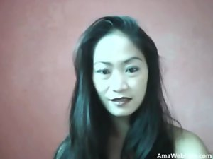 pinay gf masturbates and cums on cam - webcam actress
