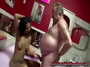 Dutch harlot fuck and cumshot