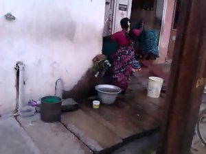 Village washing 03