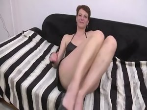 Juliette a attractive mature gangbanged and dped