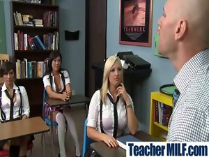 Big Melons Luscious Filthy Teacher And Girlie Get Banged vid-09