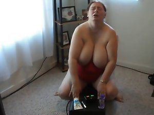 Thick Dirty wife Sybian