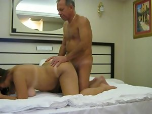 Vacation fuck with better half in hotel room