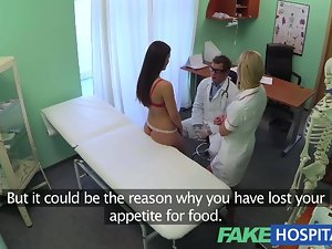 FakeHospital Doctors penis and nurses tongue cure frustrated