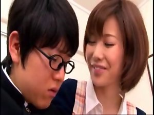 Seductive japanese group sex WF