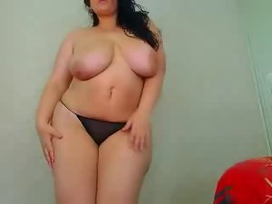 sexual curvy big melons cougar strip