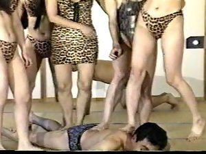 No Mercy Mix of Golden Jap Femdom - RTS