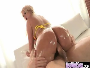 Oiled Big Lactating Butt Young lady Get Horny Asshole Sex vid-14