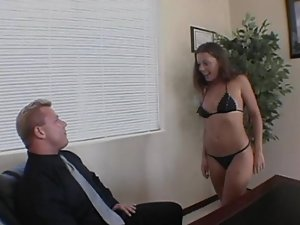 nice chesty barely legal cutie fuck with director