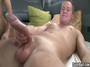 Two first timer studs are having anus sex as amateurs