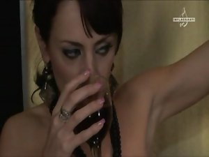 Celia Jones - lez - three filthy slutty chicks in corsets