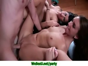 Sex Party With Aged College Friends 19