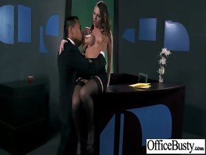 Big melons Raunchy Bitch Young lady At Work Get Horny Fucked clip-19
