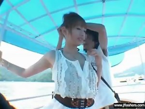 Sexual Sensual japanese Get Undress In Public Then Fuck Rough clip-24