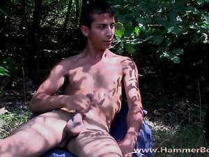 Nude bad young man Goran Vidov from Hammerboys TV
