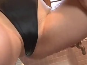 asian softcore swimsuit and panty solo