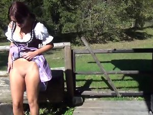 Amazing Fuck of German village hussy