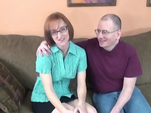 Nerd Cheating wife Layla Strokes Off A Pair Of Penises