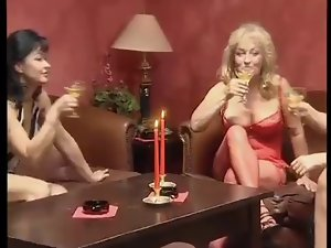 German Attractive mature Orgy